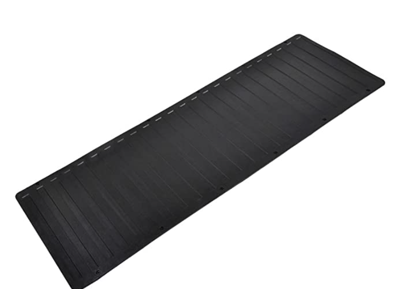 """BDK Heavy-Duty Utility Truck Bed Tailgate Mat, 60"""" x 19.5"""" – Extra Thick Rubber Cargo Liner for Pickup Trucks with Universal Trim-to-Fit Design"""