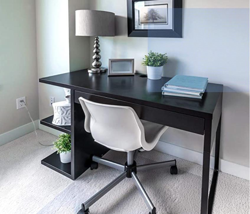 """Floortex Polycarbonate Chair Mat 60"""" x 48 for Plush Pile Carpets"""