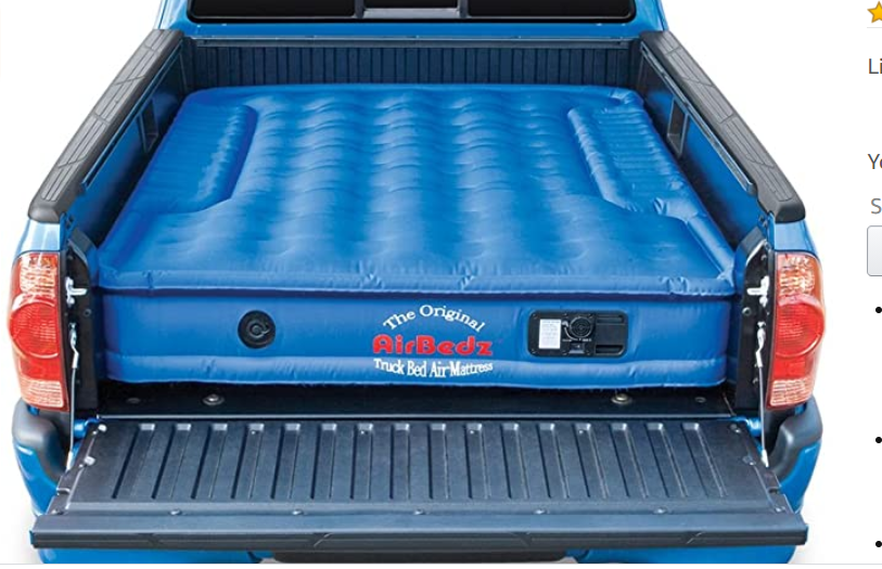Pittman Outdoors PPI 102 Original Air Mattress for 6'-6.5' Full Sized Short Bed Trucks