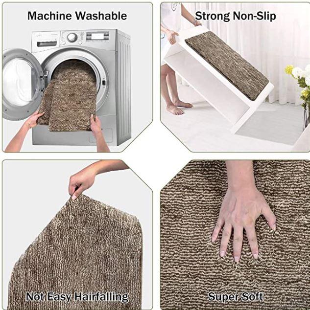 Indoor Doormat Front Door Mat Non Slip Rubber Backing Super