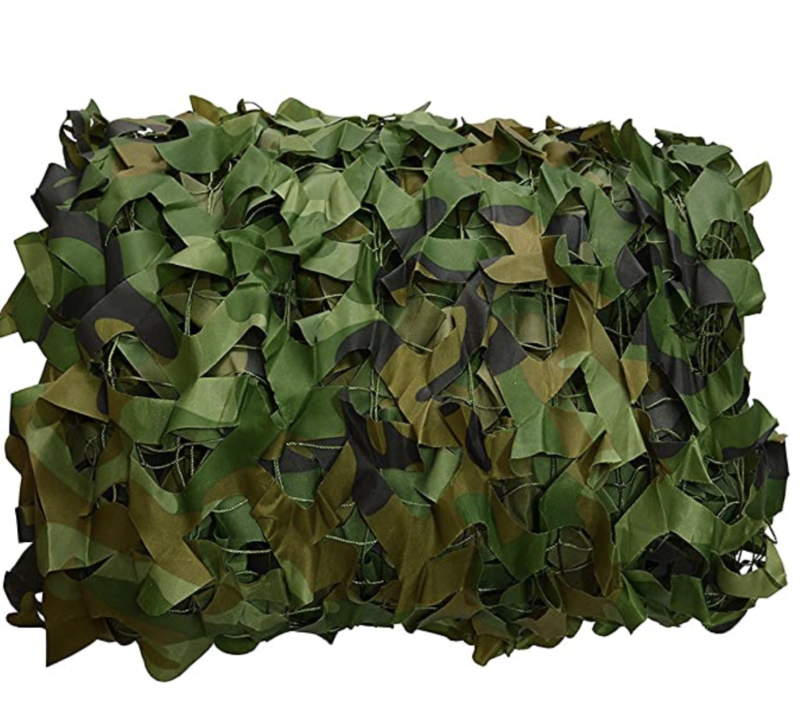 Joryn Camo Netting Camo Netting, Camouflage Net Blinds Great for Sunshade Camping Shooting Hunting Party Decoration
